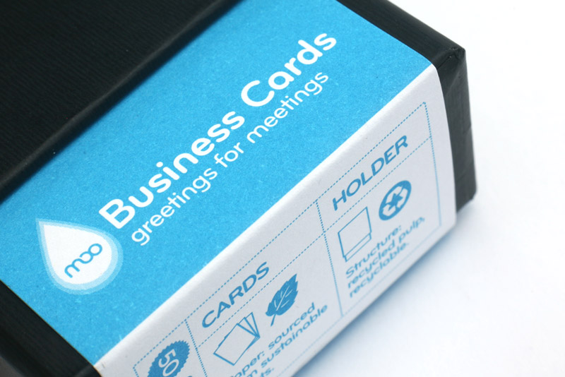 Custom Card Template business cards moo : New Moo Business cards, stickers and ShowCase card holder ...