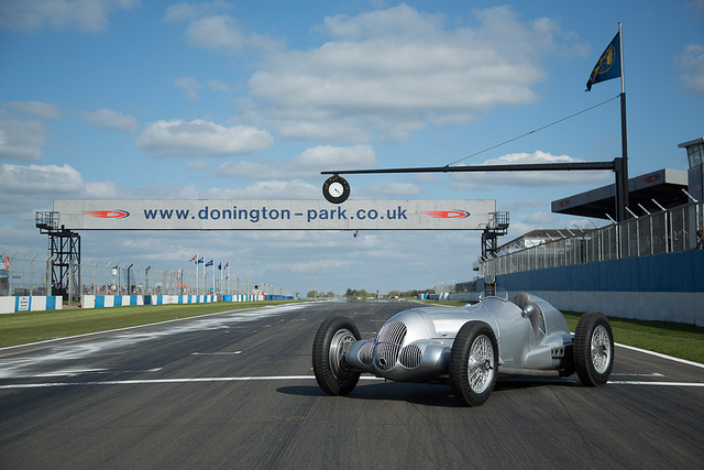 Mercedes W135 at Donington Park