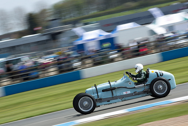 Frazer Nash Shelsley at Donington Historic Festival