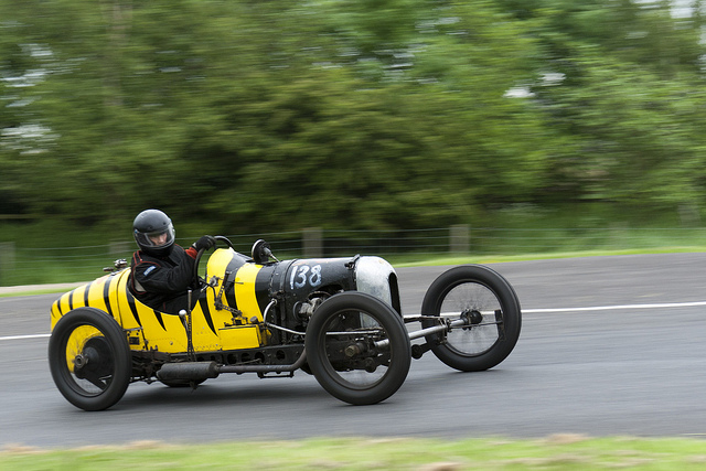 The GN Wasp at Harewood Hillclimb