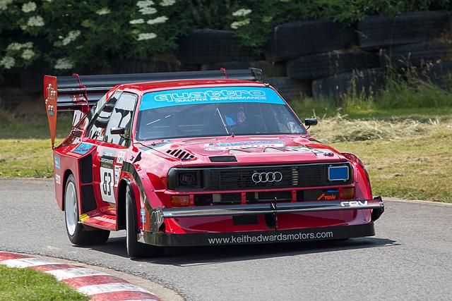 Audi Quattro at Harewood Hillclimb