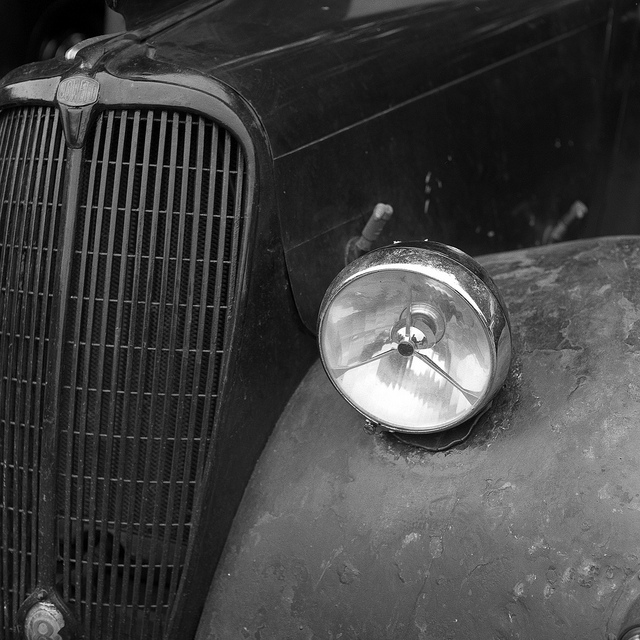 Jowett Eight grill