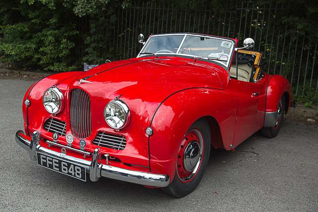 Red Jowett Jupiter