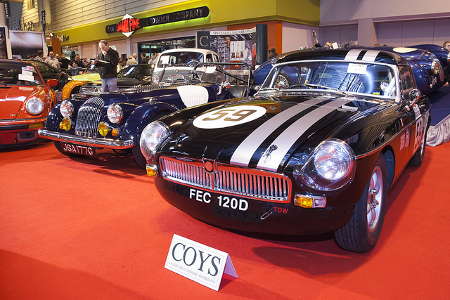 Cars in the Coys Auction