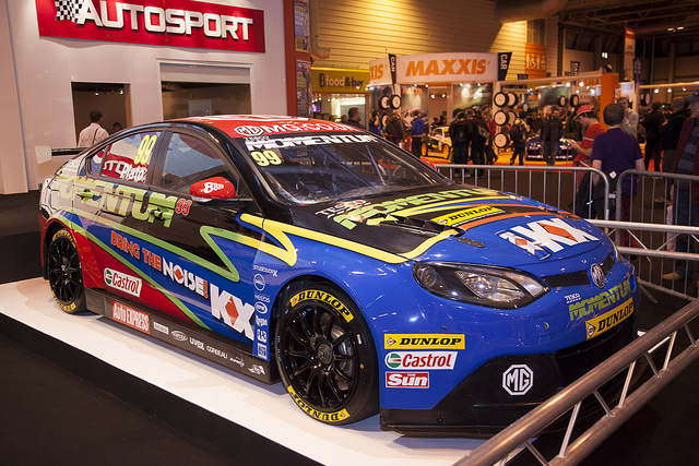BTCC MG at Autosport International 2013