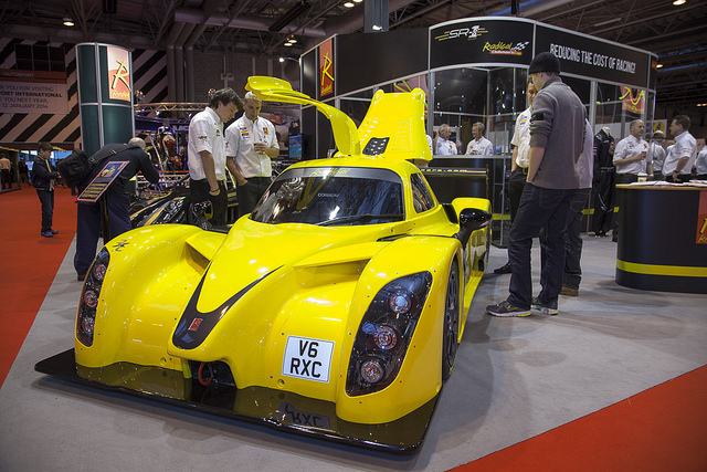 Yellow Radical on display