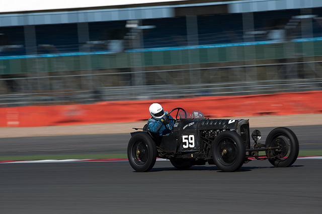 GN Parker at Silverstone