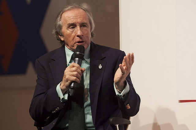 Sir Jackie Stewart at Autosport International 2013