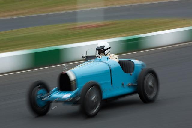 Bugatti at Mallory Park