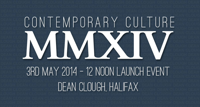 MMXIV Exhibition taking place at Dean Clough Halifax on 3rd of may at 12 noon