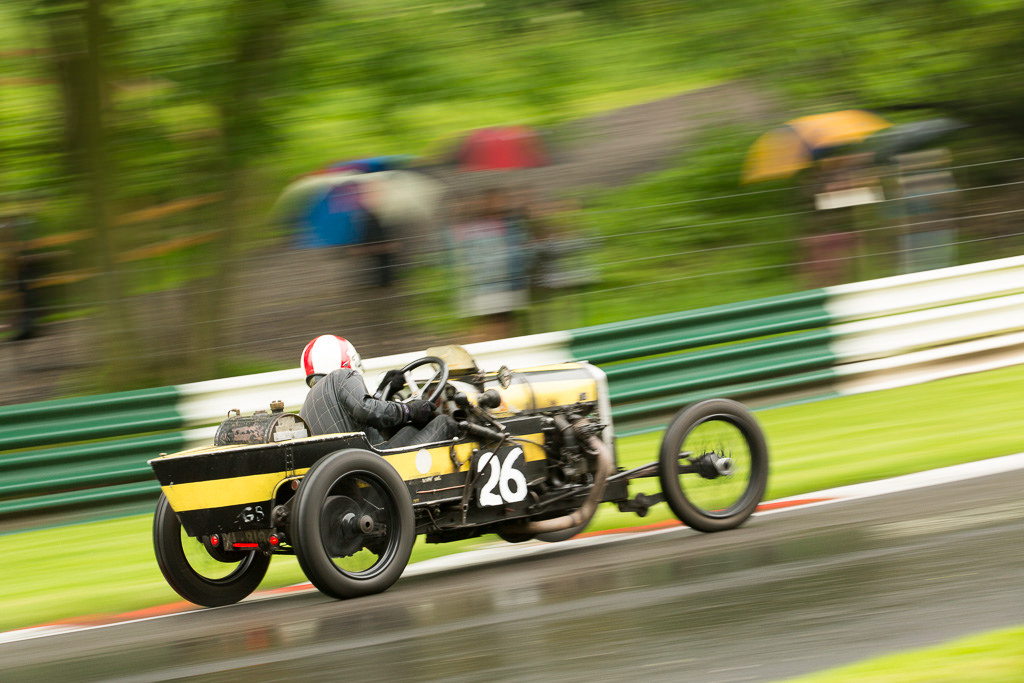 Mark Walker in the GN Thunderbug at Cadwell Park
