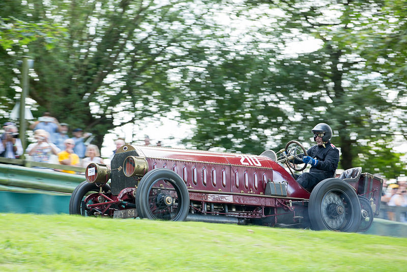 The Fiat/Isotta Fraschini 200HP at Prescott Hillclimb