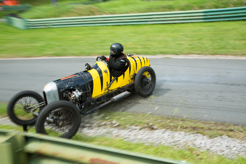 Winston Teague crashing at Prescott hillclimb in the GN Wasp